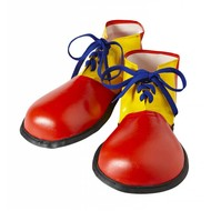 Carnavals -accessoires Clownsschühe für Erwachsenen