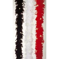 Karnevals-zubehör: Feder-boas mit blinkenden Led,s (3 Farben)
