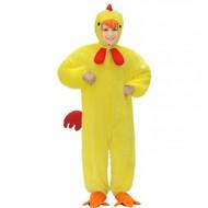 Faschingskostüme Kinder gelber Hühnchen-anzug