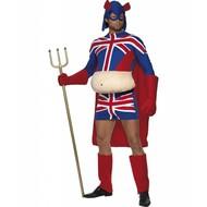 Junggesellenfest-kleidung: Captain Britannia