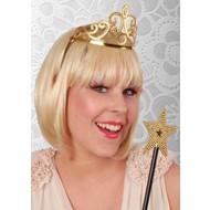 Party-accessoires: Tiara mit Stab