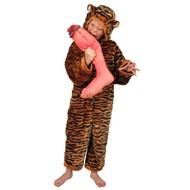 Karnevalskostüm Kinder Tiger plüsche