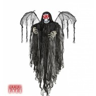 Faschings-accessoiren Engel des Totes mit blinkendem Licht (100 cm)
