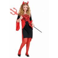 Karnevals-Kleidung Kinder: Teufel