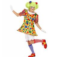 Faschingskostüm: Clownsmädchen Carolien