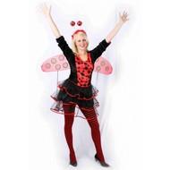 Karnevalskostüm: Sexy Marienkäfer