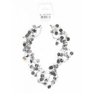 Fest-zubehör: Halskette pailletten