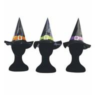 Halloweenaccessoires: Hexehüte für Kinder