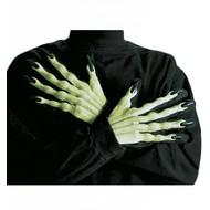 Halloweenaccessoires: Handschuhe Hexe