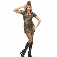 Faschingskostüme: Sexy Soldatin