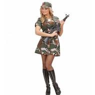 Faschingskostüm: American Army-girl