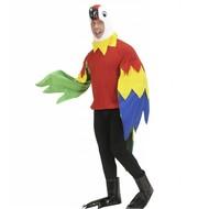 Faschingskostüm: Papagei