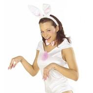 Karnevals-accessoires: Bunny-set