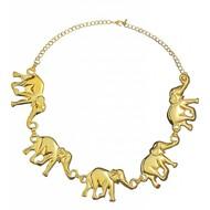 Schmuck: Elefanten Kette