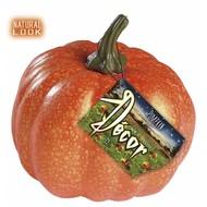 Halloween Accessoires: naturlich aussehende Kürbische 14 cm