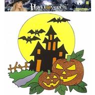 Halloweenaccessoires: Fenster-aufkleber (36 cm)