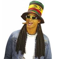 Reggae und Rasta Hut (hoch)