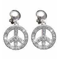 Faschings-schmuck silberne Hippie Ohrringen