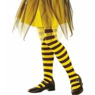 Faschingsaccessoires: Biene oder Marienkäfer-panty Kind
