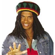 Rasta/Reggae Mütze