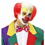 Clowns-glatze mit rotem Haar