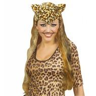 Kopfbedeckung Leopardin