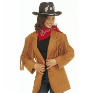 Karnevalskleidung Western Jacke