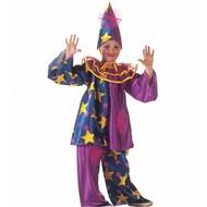 Karnevals Kinderkostüm Spaßmacher mit Sternen