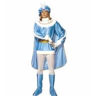 Karnevalskostüm Blauer Prinz.
