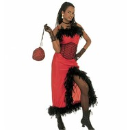 Karnevalskostüm Saloon Madame