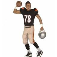 Karnevalskostüm American footballer