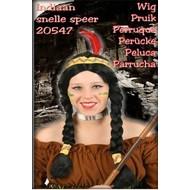 """Karneval- & Fest Zubehör: Indianer-perücke """"Schnelle Speer"""" (Frau)"""