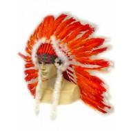 Karneval- & Fest Zubehör: Federschmuck Indianer