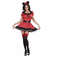 Faschingskostüm: Elegantes Mickey-Mouse-kostüm