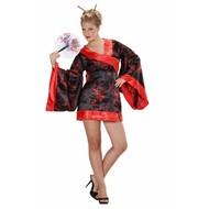 Faschingskostüm: Japanischer Kimono
