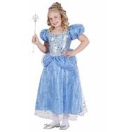 Festkostüme: Blaue Prinzessin