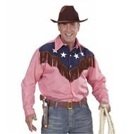 Faschingskostüme luxus Cowboy-shirt