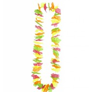 Faschings-attributen Hawaii Kette multicolor neon