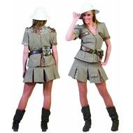 Karnevalskleidung: Safari-lady