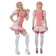 Faschingskostüm: Erdbeere Mädchen