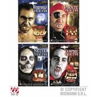 Karnevalszubehör: Verschiedene Zähne