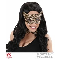 Karnevals-zubehör Augenmaske Leopard Sep
