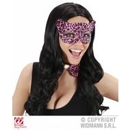 Karnevals-zubehör Augenmaske Leopard Joy