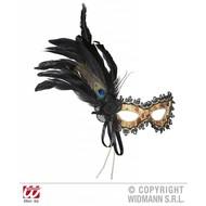 Augenmasken Turkisch mit Federn