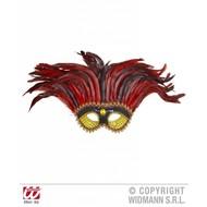 Augenmasken:  Feder Augenmaske