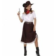 Karnevalskostüm Cowgirl Shirt (luxus)