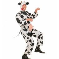 Karnevalskostüm: Lustige Kuh
