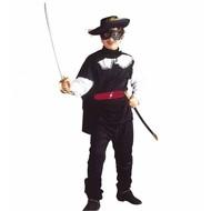 Kinderkarnevalskostüm: Reiter Zorro
