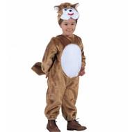 Plüsche Karnevalskostüm: Eichhörnchen