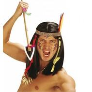 Faschingszubehör: Perücke, Indianer Comanche
